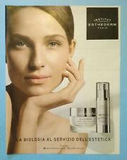 Pubblicita'Advertising Werbung Vintage INSTITUT ESTHEDERM crema serum 2018(B7)