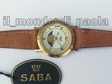 OROLOGIO DA POLSO SABA S 5400 7029 VINTAGE WATCH DONNA COLLECTION NEW NUOVO _