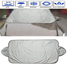 Car Snow Protect Cover Magnet Windshield Ice Sun Frost Protect Tarp Sun Shield