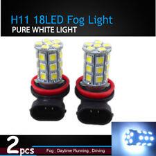 Pair H11 White Fog Head Lights LED Bulbs For Ford Falcon FG G6 XR6 XR8 2008-2014