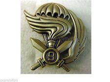 Fregio da Basco Militare 9° Reg. Col Moschin Folgore Esercito Italiano metallo