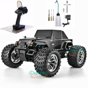 RC Truck Nitro Gas Power Hobby 4wd Car High Speed Off Road Truck kids Toys Gift