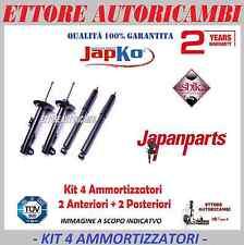 KIT 4 AMMORTIZZATORI JAPANPARTS  OPEL CORSA C DAL 2000 AL 2006 - NUOVI