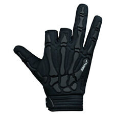Exalt Paintball Skeleton Hand Death Grip Padded Gloves Black Large L New