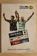 2019 SCOTTISH CUP FINAL PROGRAMME *HEARTS OF MIDLOTHIAN V CELTIC* (25/05/2019)
