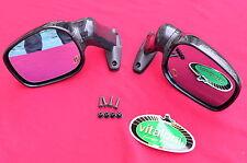 Coppia specchi specchietti cupolino ORIGINALI VITALONI moto d'epoca stradale