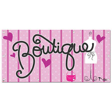 Boutique - Retail Store Business Sign 5'x2' Banner