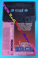 MC LEGENDS OF ROCK compilation FLEETWOOD MAC STEWART SMALL FACES no cd lp dvd