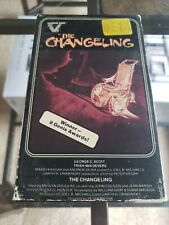 THE CHANGELING BETA BETAMAX - NOT VHS - RARE HORROR with George C. Scott