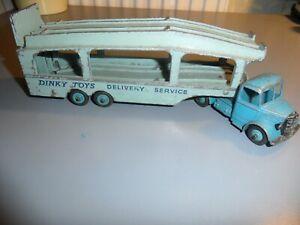 DINKY SUPERTOYS BEDFORD PULLMORE CAR TRANSPORTER 982 MECCANO LTD