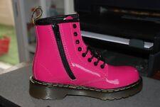 Botte Dr Martens Delaney Hot Pink Patent Pointure 30