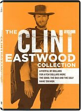 CLINT EASTWOOD Collection DVD Film 4 Westerns Movie Set Wolfgang Lukschy