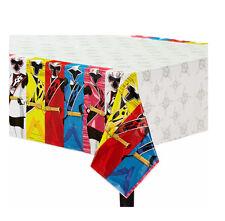 Power Rangers Ninja Steel Plastic Table Cover Birthday Party Decoration Supplies