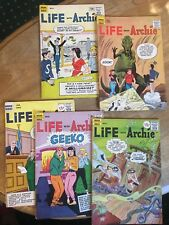Life with Archie #12 13 14 16 18 SILVER AGE COMIC LOT VG+-  (1961-1963 Archie)
