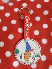 Cath Kidston Pets Party Guinea Pig Keyring New