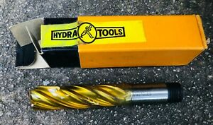 "HYDRA 19/32"" Dia End Mill - HSS.  Screwed shank LS - Brand New in Box"