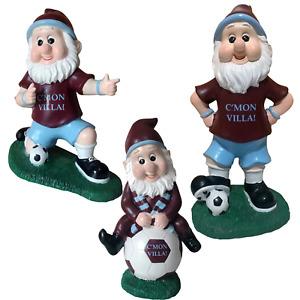 """Aston Villa Colours Football 12"""" Garden Gnomes"""