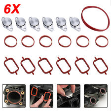 6X33 mm for BMW Swirl Flap Blanks Repair Kit Manifold with Intake Gaskets