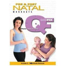 Quick Fix - Pre and Post Natal Workouts (DVD, 2003)