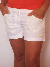 Crocs Pantalones bermuda cortos [Talla M] Calzoncillos Cortos Mujer Pant blanco