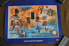 American Ex-Prisoners of War Print/Poster by Coors from AAF/POW Vet. A.Weiss