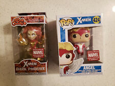 Funko Pop Marvel Collector Corps Bundle w/ Dark Phoenix Rock Candy & Angel Pop
