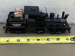 Bachmann Spectrum On30 Scale Train Two-truck Shay Pocahontas Lumber Co
