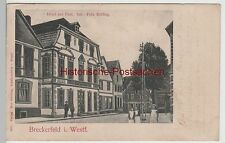 (82820) AK Breckerfeld i.W., Hotel Zur Post, 1910