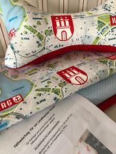 Bastelset, Materialpackung, LESEKNOCHEN Hamburg selbst machen, DIY, Kissen