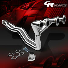 FOR VW GOLF MK1/17 1.6/1.8 STAINLESS STEEL EXHAUST MANIFOLD 4-2-1 RACING HEADER