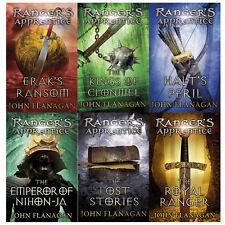 Rangers Apprentice(Books 7-12)Collection John Flanagan 6 Books Set Pack New [PB]