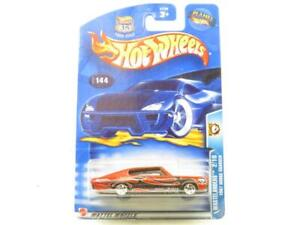 Hotwheels Wastelanders 2/10 1967 Dodge Charger 57128 Long Card 1 64 Scale Sealed
