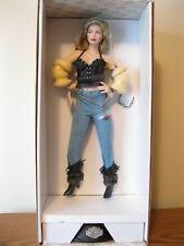 "Gorgeous Franklin Mint ""Candy Harley Davidson Biker Babe"" doll-Nrfb- No Coa"