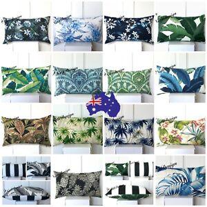 Tommy Bahama -Richloom -Kaufman Indoor/Outdoor Tropical Palm Leaf Cushion covers