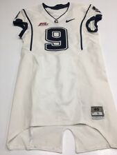 Game Worn Used UConn Huskies Connecticut Football Jersey #9 Size 40