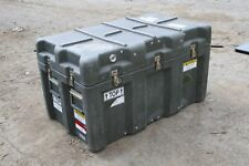 """30"""" x 21"""" x 21"""" Military Heavy Duty Stackable Storage Case"""