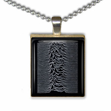 Joy Division Necklace Handmade Joy Division Unknown Pleasures unique gift