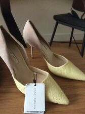 zara stylish court shoes size 5 unusual colour.new with tags.