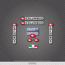 0262 Columbus CARVBON XLR8R Bicycle Frame Sticker - Decal