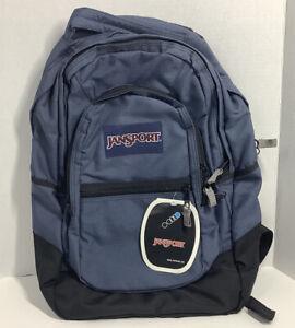 Vintage Retro JanSport Backpack Navy Blue