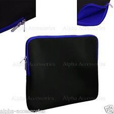 """Laptop Sleeve Table Case Notebook Bag Netbook Cover Neoprene Slip 15.6"""" & 10.2"""""""
