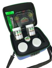 Sport Case Smell Proof Stash Box. Rolling Tray, Herb Grinder, Glass Jars & Pen