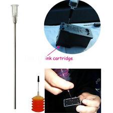5~30X 100mm White Blunt Dispensing Needles Syringe Needle Tips Ink Refilling Set