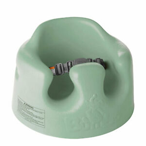 Bumbo Baby Infant Soft Foam Floor Seat with 3 Point Harness, Hemlock (Open Box)