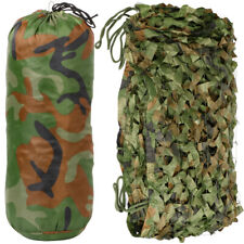 Camouflage Net Hunting/Shooting/Army/Camping/Woodland Hide Camo Netting 5M x1.5M