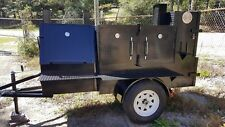 Mini Rib Master Mobile BBQ Smoker Trailer Grill Food Truck Vending Concession
