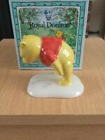 ROYAL DOULTON WINNIE THE POOH AND PAW MARKS WP3 BOXED