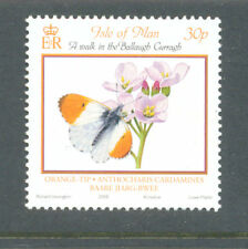 Butterfly-Orange-Tip mnh single(Isle of Man)-Insects