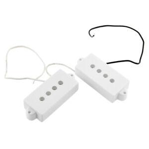 2pcs 4 Loch Bass Tonabnehmer für E Bass Gitarre