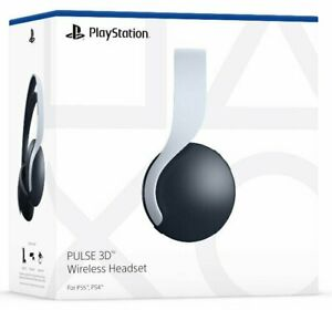 PULSE 3D Wireless Headset Compatible PlayStation 4 PlayStation 5 White PS4 PS5